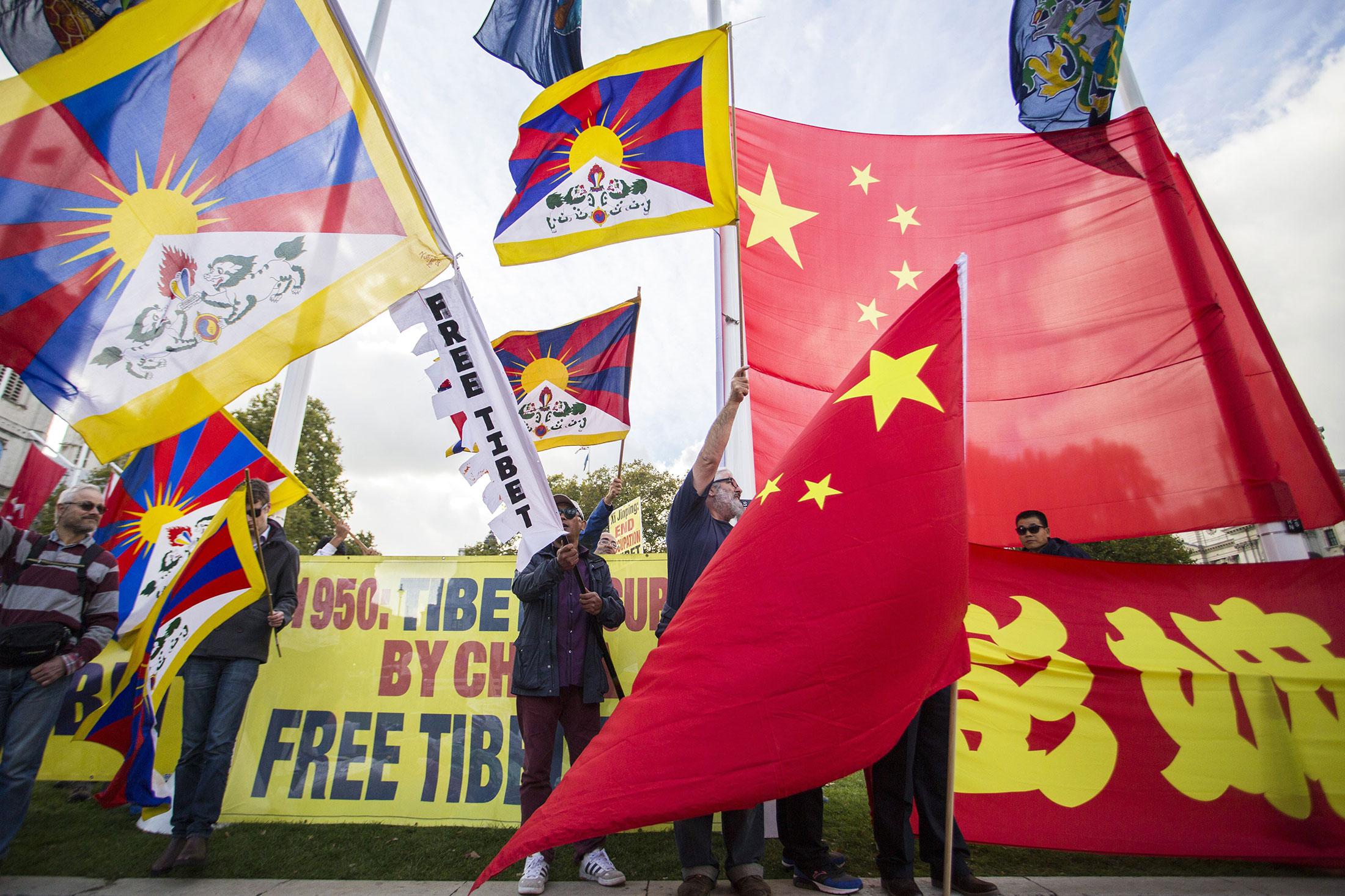 Free Tibet Protest