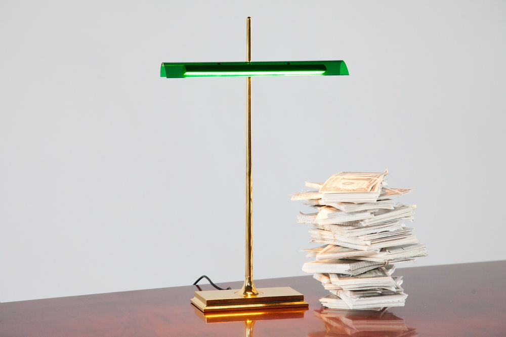 Goldman LED Table Lamp By Ron Gilad For FLOS