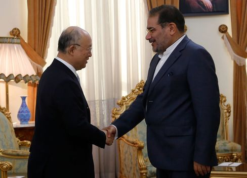 Yukiya Amano and Ali Shamkhani meet in Tehran today