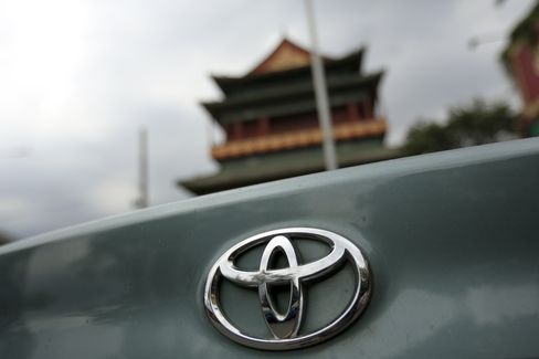 Toyota Venture Says China Retail Sales Rebounding After Protests