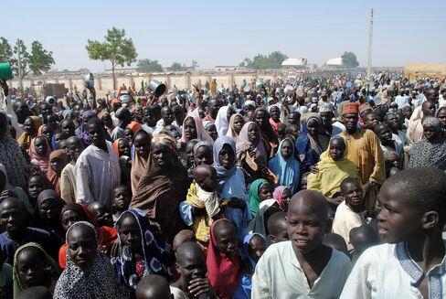 Dikwa Camp in Borno State