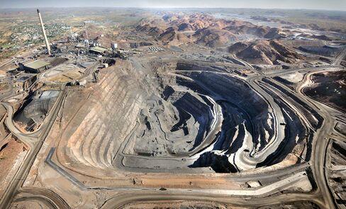Xstrata Plc's Mt. Isa Mine In Australia