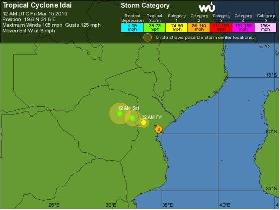 Deadly Cyclone Leaves Trail of Destruction in Mozambique