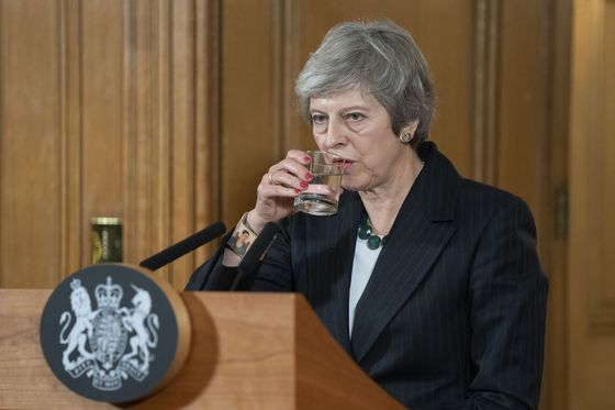 `No Alternative' to My Brexit Deal, U.K.'s May Writes in The Sun