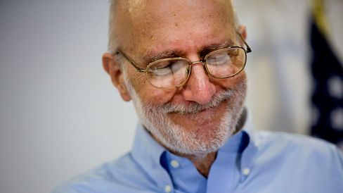 American aid worker Alan Gross, a former Cuban prisoner released on humanitarian grounds, pauses while speaking at a news conference in Washington, D.C., U.S., on Wednesday, Dec. 17, 2014.
