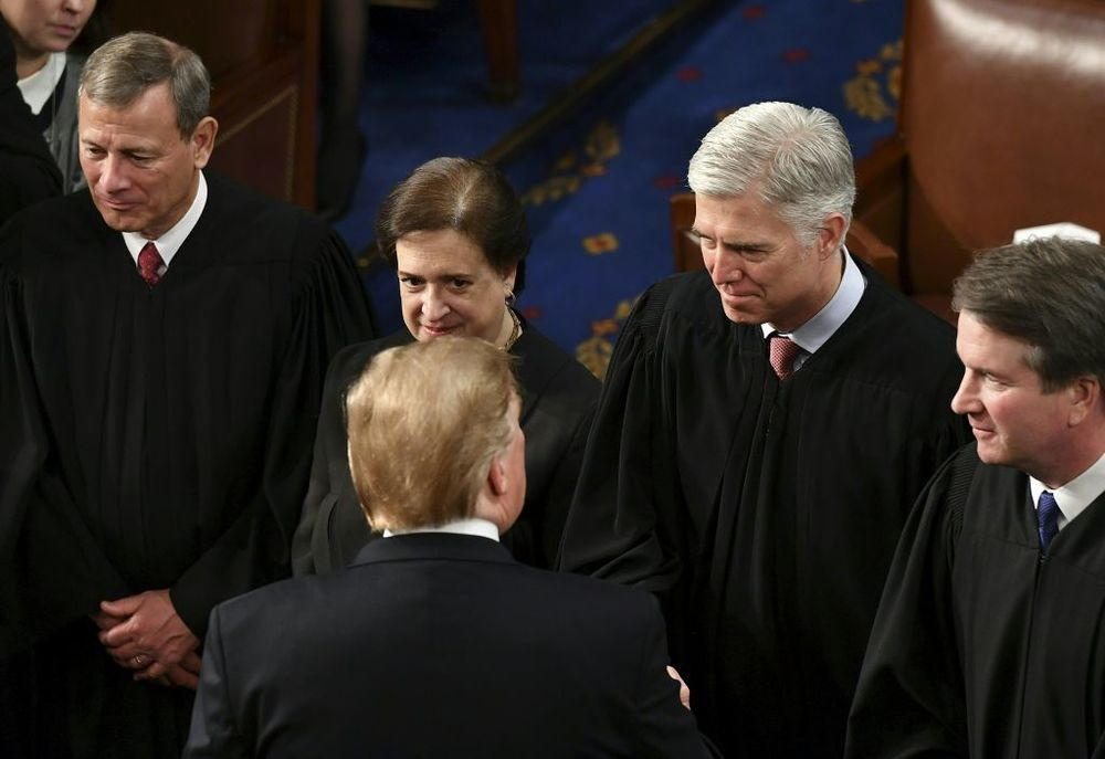 Trump Is Stuck With Nationwide Court Injunctions