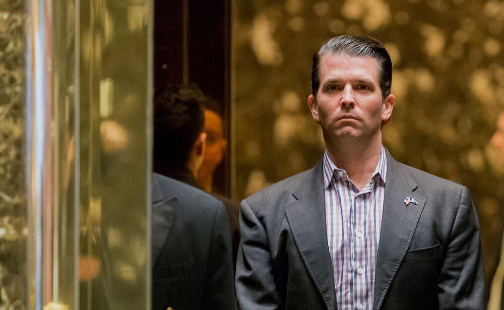 Donald Trump Jr. Says His Father Is a Regifter