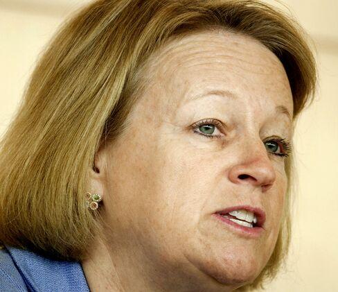 U.S SEC Chairman Mary Schapiro