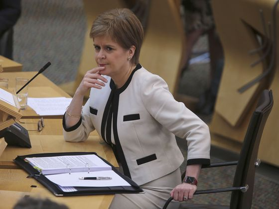 Former Leader Goes on Attack in Scotland's Big Political Feud