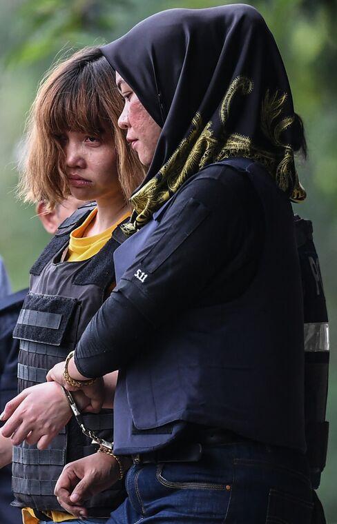 起訴されたベトナム人女性Doan Thi Huong被告