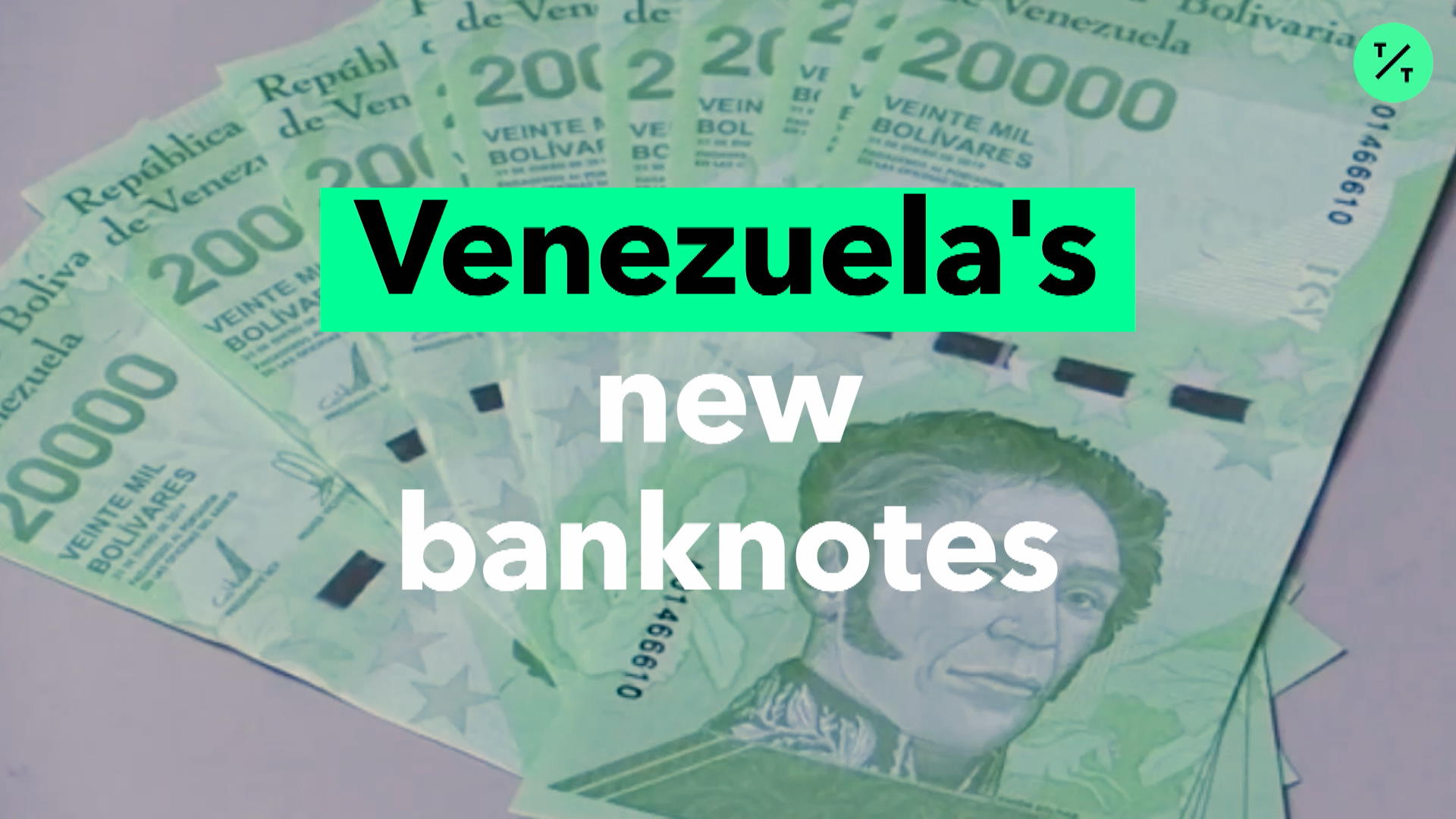 Venezuela Rolls Out New Banknotes