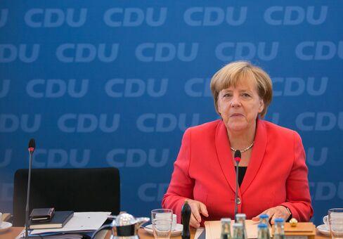 Angela Merkel on Sept. 19.