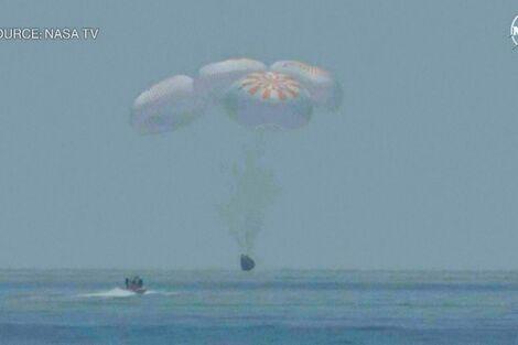 NASA's Milestone Splashdown Launches New Era, Says Administrator