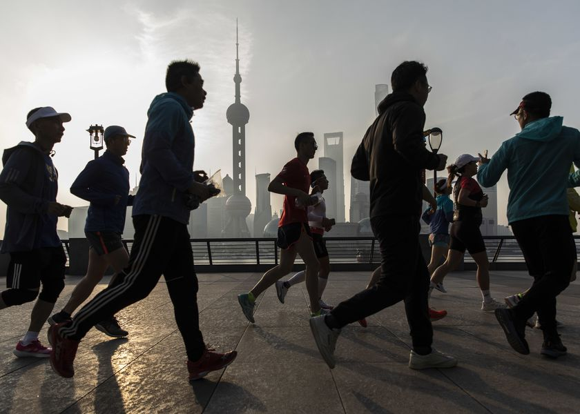 Daily Life In Shanghai Ahead of China Census