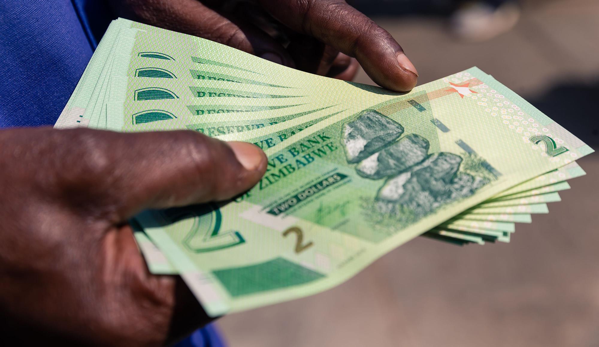 Africa News Zimbabwe Dollar Zwl Usd
