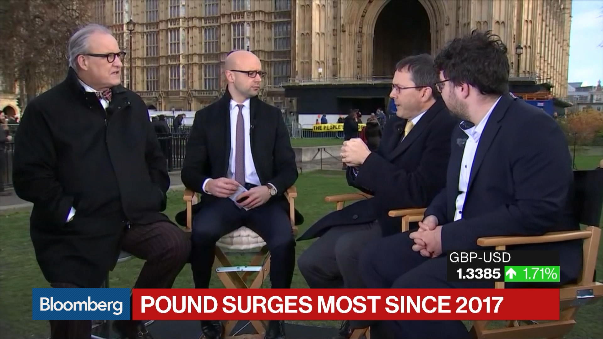 'Bloomberg Surveillance' - (11/13/2019) - Coverage of the U.K. election - Part 2