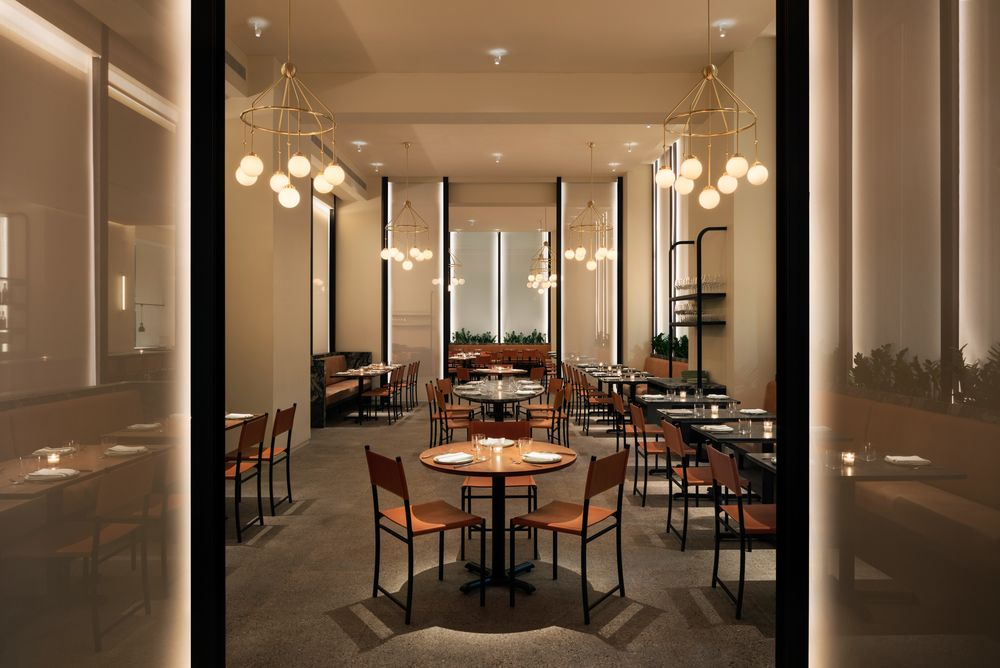 An Eleven Madison Park Chef Is Heating Up FiDi at Crown Shy - Bloomberg