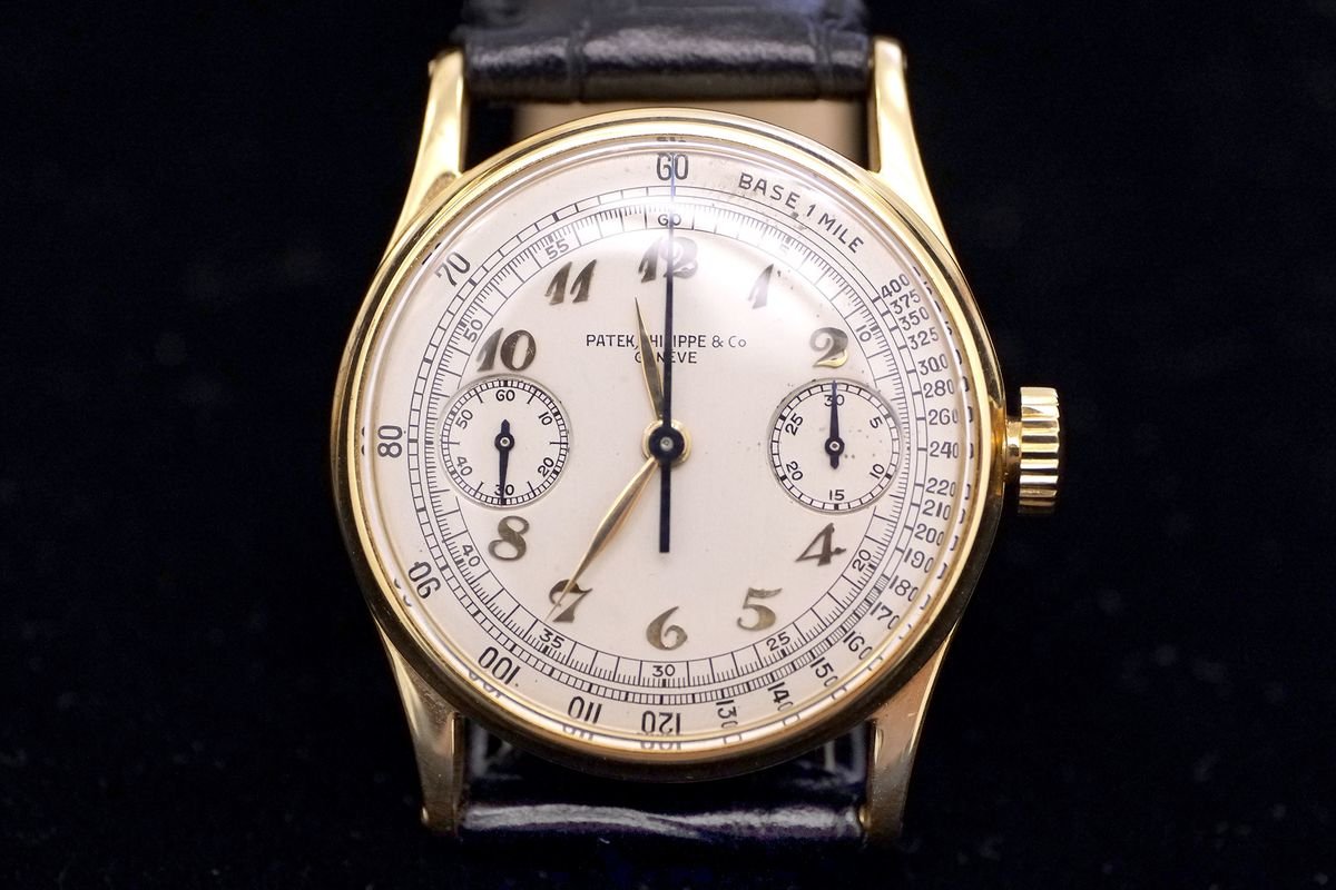 02d0a949910c 13 Beloved Vintage Watch Icons on Auction From Christie s - Bloomberg