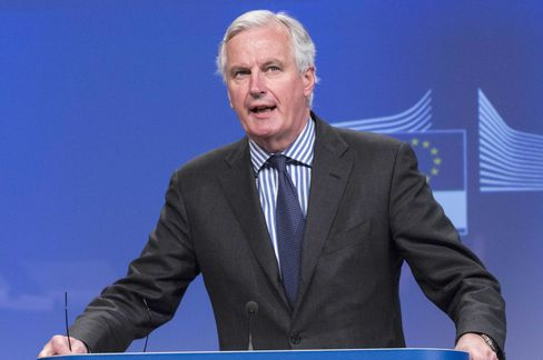 The European Union's Financial Services Chief, Michel Barnier