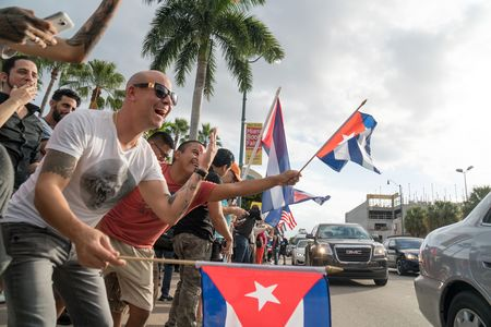 In Miamis Little Havana, Castros Death Sparks Celebration