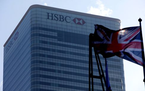 The HSBC Holdings Plc Headquarters