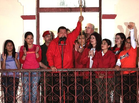 Chavez Win Called by BofA Points to Bond Rout as Barclays Flops