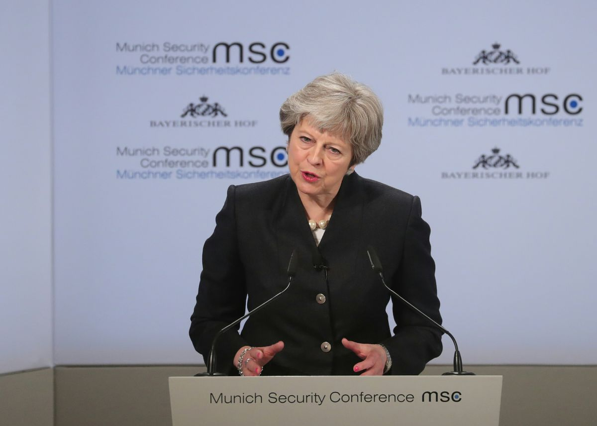 May Wants Total Alignment With EU Data Rules After Brexit
