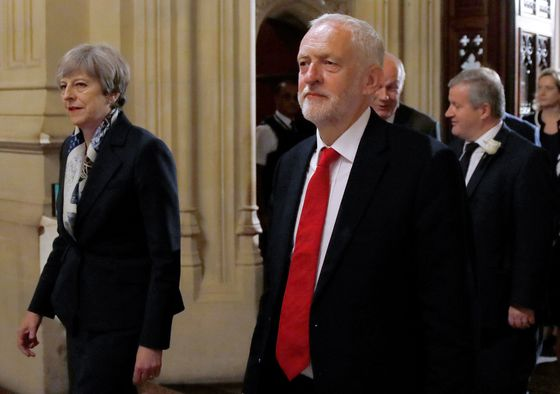 May Courts Corbyn as She Plays for Time to Get a Brexit Deal