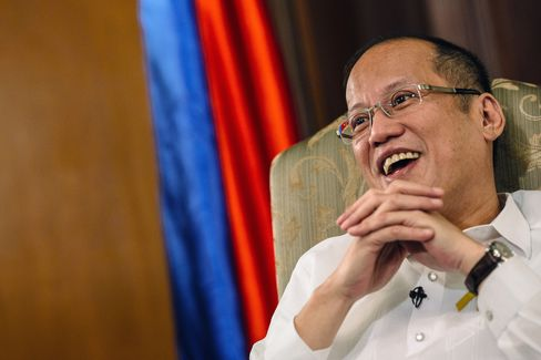 Philippines' president Benigno Aquino