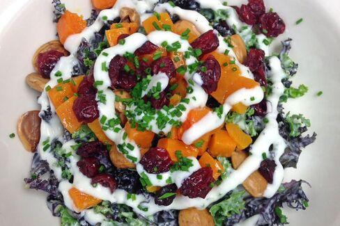 Balthazar's winter kale salad.
