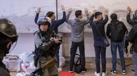relates to Hong Kong Unrest Eases After Tense Sunday