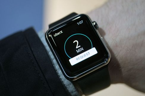 Popular apps such as Uber and Instagram have been designed specifically for the Apple Watch.