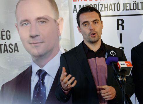 Jobbik President Gabor Vona