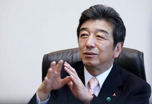 Mitsubishi Electric Corp. President Kenichiro Yamanishi