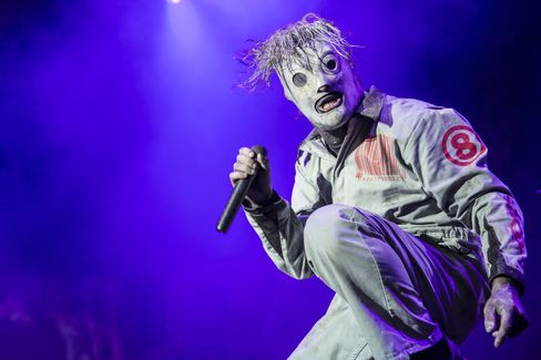 Metal band Slipknot is a 2016 Grammy Awards nominee