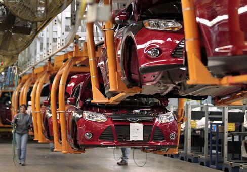 GM, Ford, Chrysler December U.S. Vehicle Sales Surpass