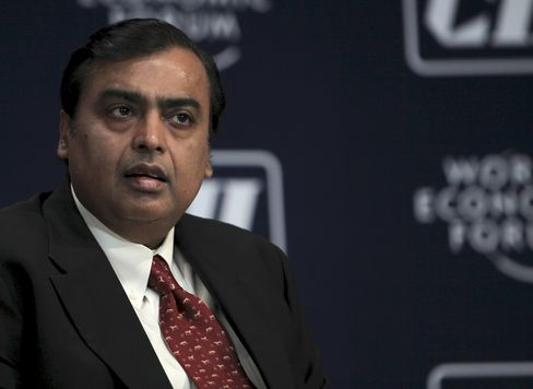 Reliance Industries Ltd. Chairman Mukesh D. Ambani