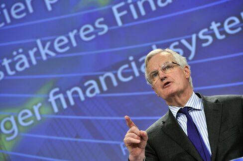 EU Financial Services Chief Michel Barnier