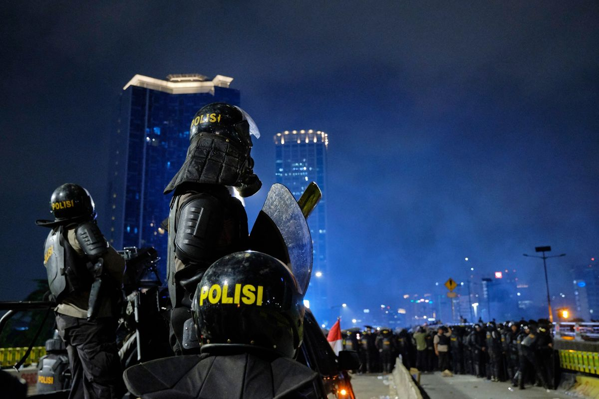 Minister Sees Political Motive as Fresh Protests Hit Indonesia