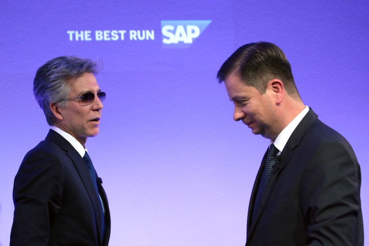 SAP Executives Come Out Fighting as Shares Slump on Growth