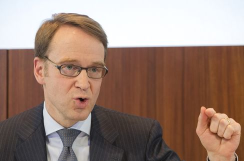 Deutsche Bundesbank President Jens Weidmann Attends German Central Bank's Annual News Conference