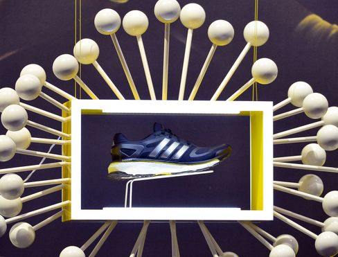 Adidas Jumps as Positive Outlook Outweighs Quarterly Loss