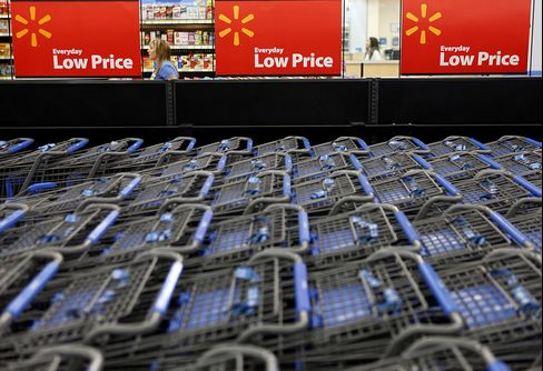 Wal-Mart E-Mails Show Tax Pressure on Retail Sales, Analysts Say