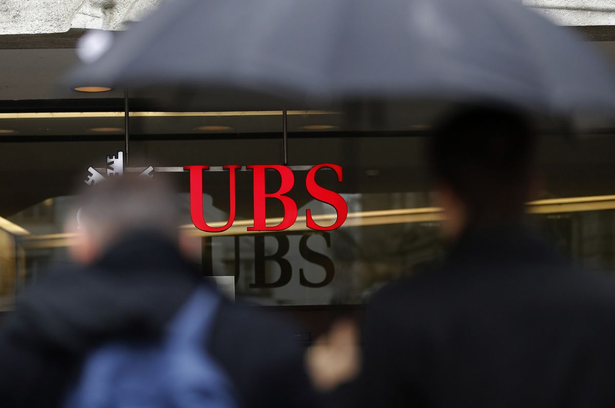 UBS's Superstar Banker Has a Lot Riding on Him