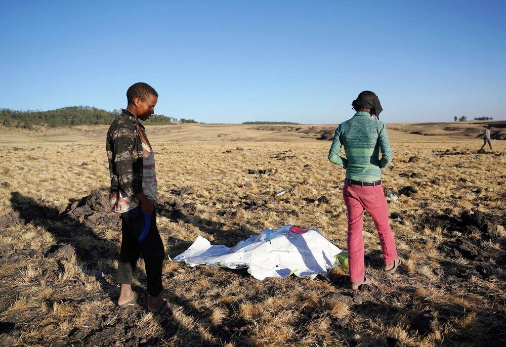 埃塞俄比亚航空公司内罗毕航班坠毁事故导致所有157人死亡