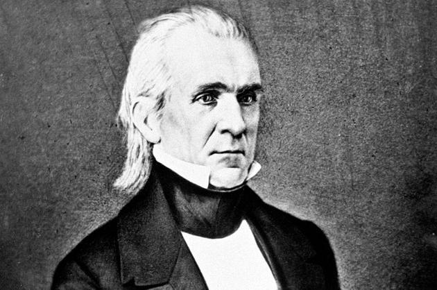James Polk, 1845