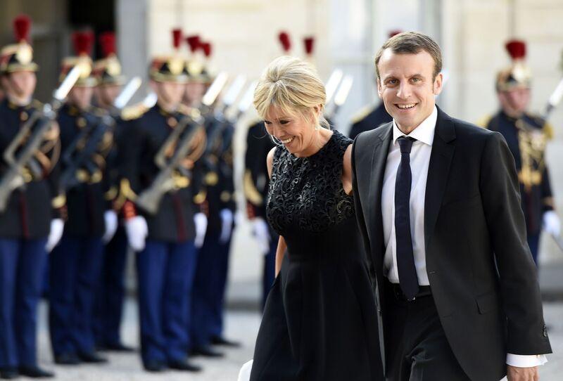 Brigitte Macron Profile: Macron's Wife, the Singular Woman Behind ...