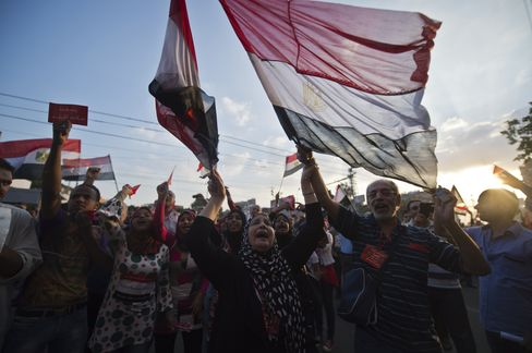 Unrest Roils Egypt as Army Deadline Moves Markets