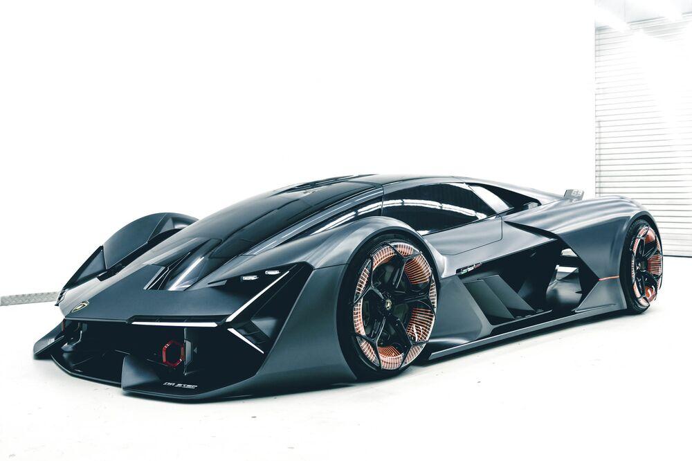Lamborghini Terzo Millennio Concept Self Healing Electric Supercar