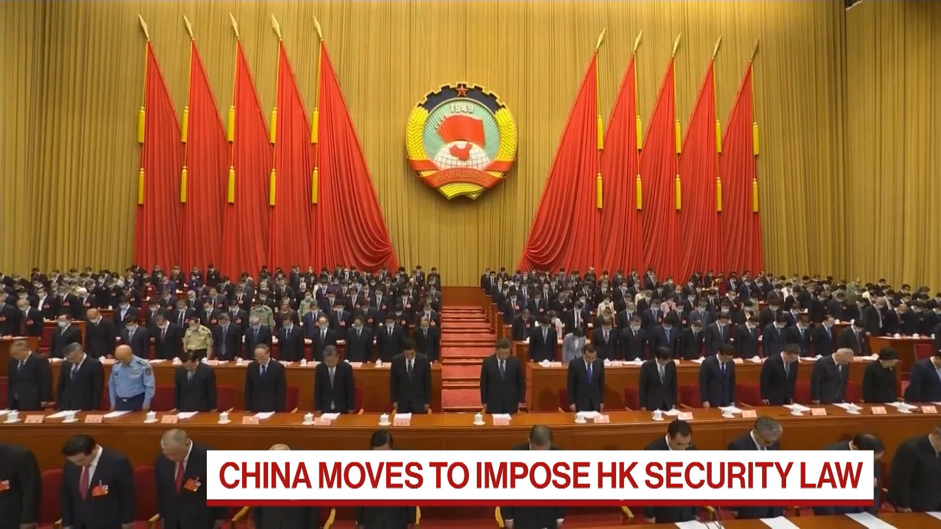 China Plans Controversial New National Security Law